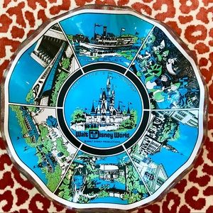 Vintage Walt Disney World Magic Kingdom Bowl